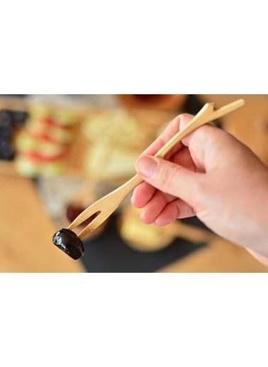 Bambum Bambum Timber Tadım Seti - Çatal Kaşık Bıçak 3 Prç. Renkli